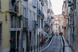 Narrow street in Lisbon. Portugal - 228743179