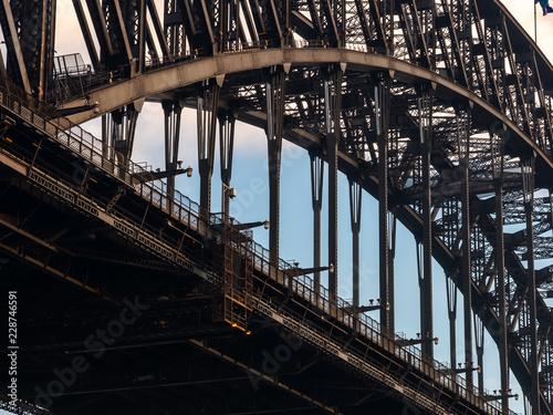 Fototapeta Dtail of Sydney Harbour Bridge