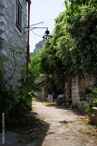 Leinwanddruck Bild Ston, Dubrovnik-Neretva, Kroatien