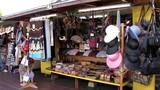 Touristic shop in pueblo in downtown Los Angeles, California, USA. - 228776534