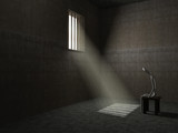 Husband is in prison - conceptual image - 228790567