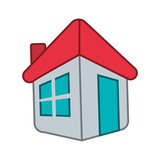 house exterior facade icon