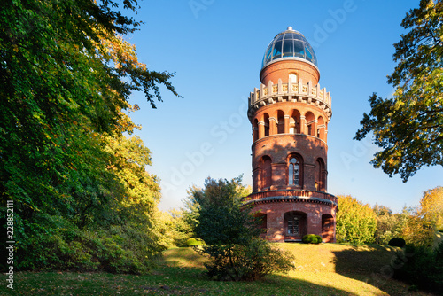 canvas print picture     Ernst-Moritz-Arndt-Turm auf dem Rugard, Ostseeinsel Rügen, Bergen