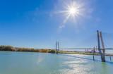pont de Tarascon-Beaucaire sur le Rhône, France