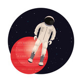 astronaut astronomy space