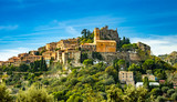 Landscape of historical medieval village of Eze on French riviera - 228881715
