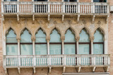 The best windows in the beautiful city of Venice