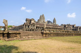 Angkor Wat as viewed from the side - 228915972