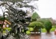 Dragon sculpture in Imperial City in Hue, Vietnam
