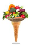 gelato alle verdure miste