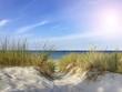 Aufgang zum Strand auf der Schabe an der Ostsee