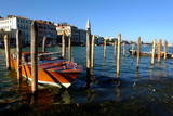 Venedig Kanal mit Boot