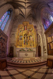 Interior of the National Cathedral in Washington DC, USA - 228977368