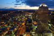 Downtown Calgary at night, Canada