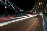 Tower bridge in London in der Nacht