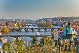 View on Prague at sunset - 228988903