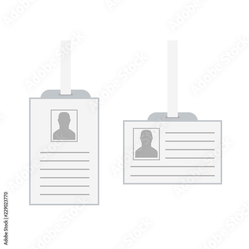 id security cards and identification badge template of id card