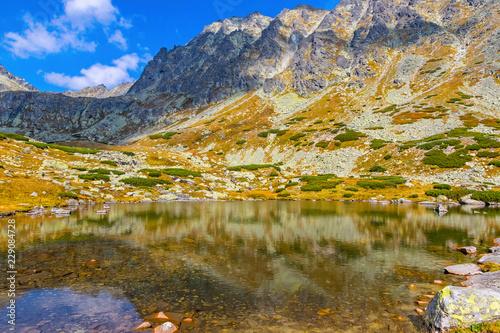Hiking in High Tatras Mountains (Vysoke Tatry), Slovakia