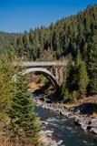 North Fork Payette River Bridge, Idaho.  The