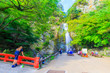 Leinwandbild Motiv 滝の風景 箕面