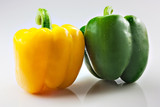 yellow and green pepper