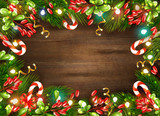 Christmas Realistic Background - 229181577