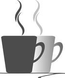 Kaffeetassen für Kaffeepause