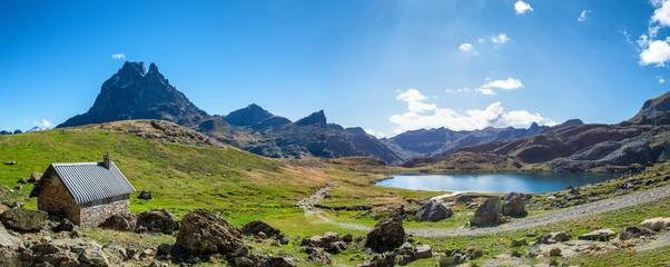 view of Pic Du Midi Ossau, France, Pyrenees © Philipimage