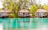 Overwater bungalows, French Polynesia - 229272198