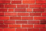 A Simple Red Brick Textured Wall Background Perfect for Presentations