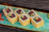 Spicy tuna rolls - 229320328