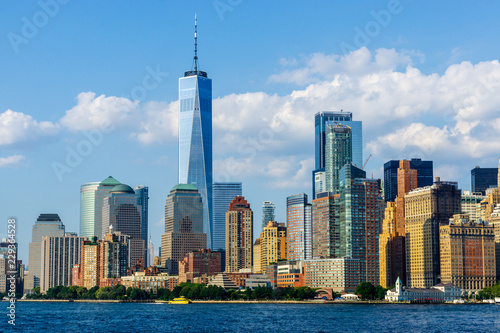 Manhattan Downtown Panorama, New York City - 229364528
