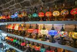 Oriental lamps in vintage store of Kotor - 229369501