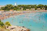 plage du Verdon, la Couronne,Martigues, Bouches-du-Rhône, France  - 229373903
