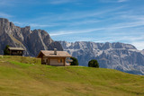 Holzhaus in den Dolomiten - 229375382