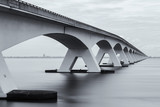 Zeeland Bridge, longest bridge in the Netherlands.