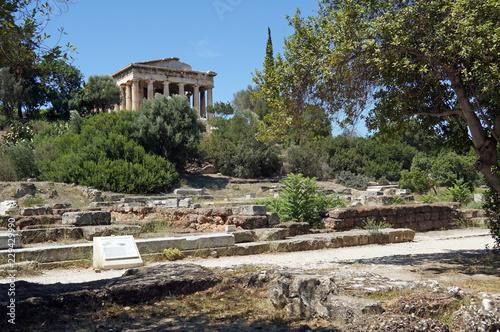 griechenland, athen, Tempel des Hephaistos
