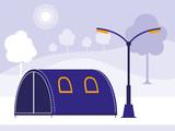 camping tent design - 229442116