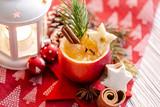 Weihnachtsapfel Motiv  - 229443774