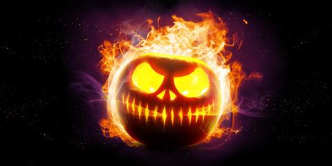 Halloween in Flammen © Thaut Images