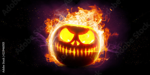 Halloween in Flammen © Thaut Images