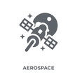 aerospace icon from Astronomy collection.