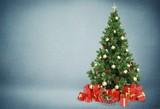 Beautiful Christmas Tree on white background.