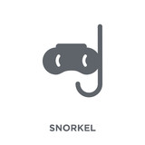 Snorkel icon from  collection. - 229494934