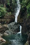 Nature waterfall, Thailand
