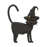 Halloween scary cartoons - 229510735