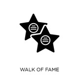 Walk of fame icon. Walk of fame symbol design from United states of america collection.