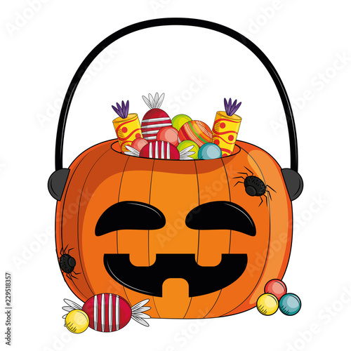 Halloween scary cartoon - 229518357