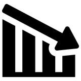 financial crisis vector icon - 229531172