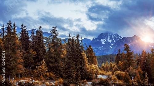 Tatra mountains landscape. - 229542376